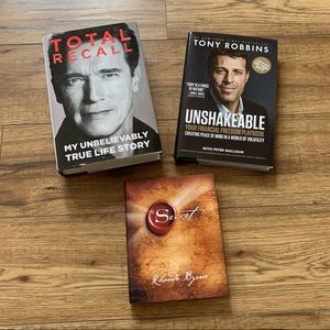 Bundle motivational/law of attraction books